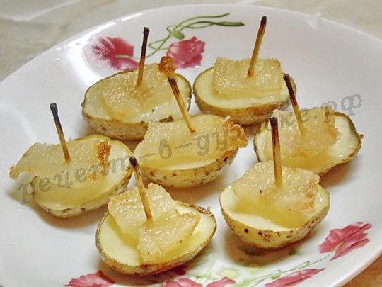 вкусная картошка кораблики готова