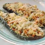 лодочки из баклажанов с сыром фото рецепт