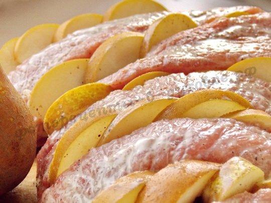 Рецепт фото пошагово груша в духовке