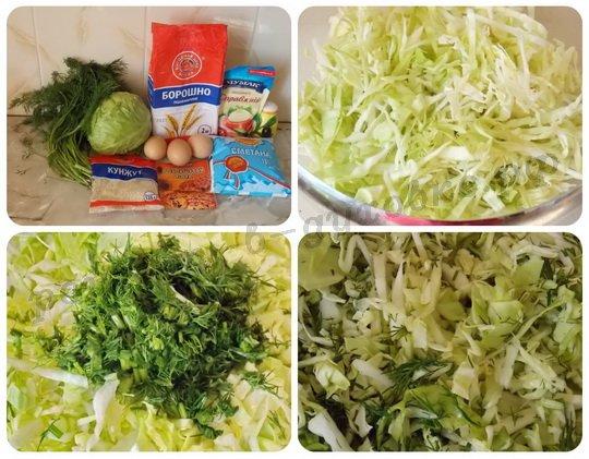 рецепт капустной запеканки