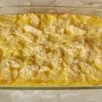 запекаем картошку в сливках