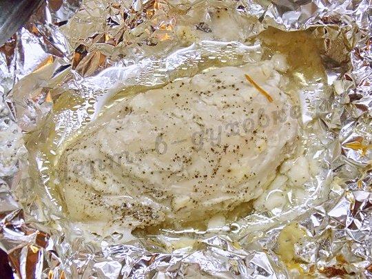 куриная грудка запечённая в фольге