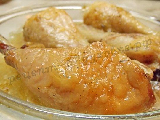 рецепт куриных ножек в духовке в пакете