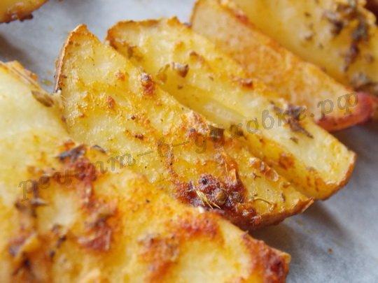 запекаем картошку до мягкости