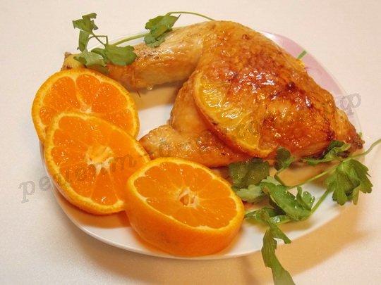 апельсиновая курица