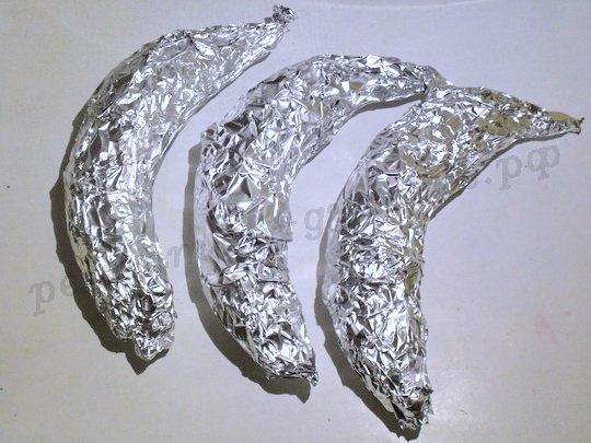 бананы запечённые в фольге