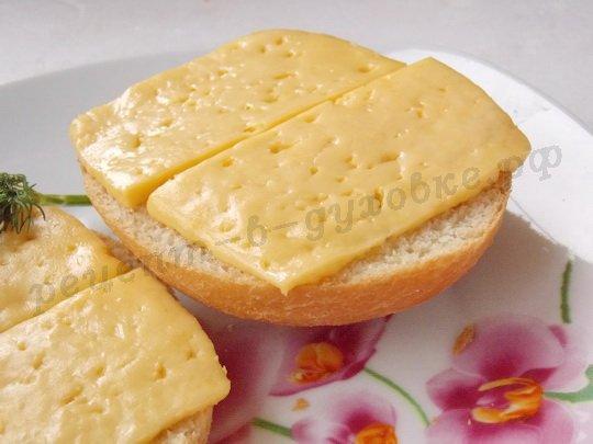 как приготовить горячие бутерброды с сыром