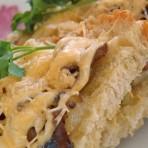 вкусные бутерброды с грибами