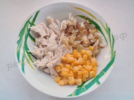 начинка для корзиночек с курицей