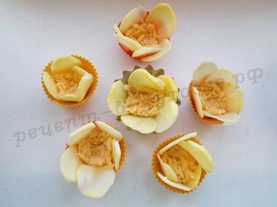 Рецепт из картофельных цветков
