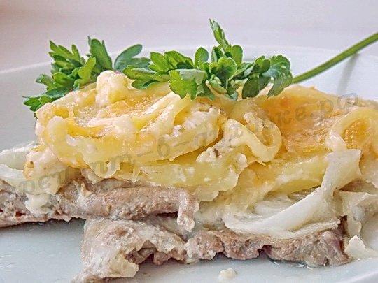 картошка по-французски фото рецепт