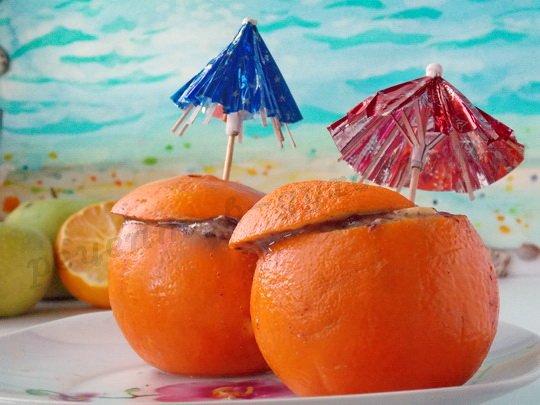 фруктовый десерт в духовке