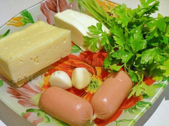 ингредиенты для запечённых булочек с сыром