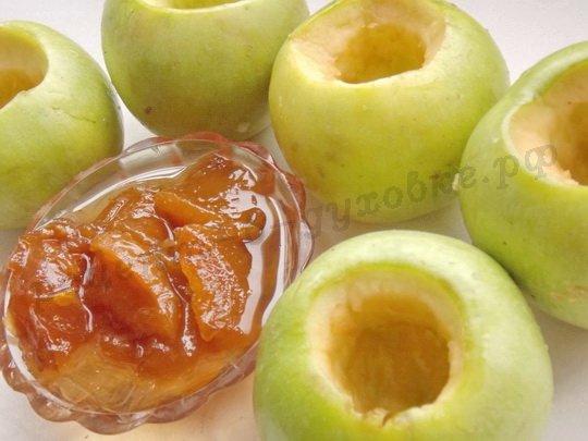 очистим яблоки