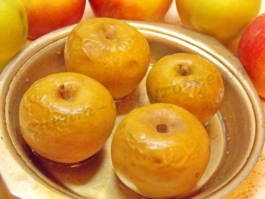 яблоки запеченные в духовке на зиму