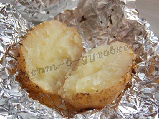 вкусная картошечка готова!