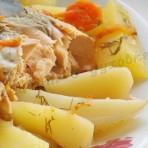 рецепт горбуши запечённой в духовке