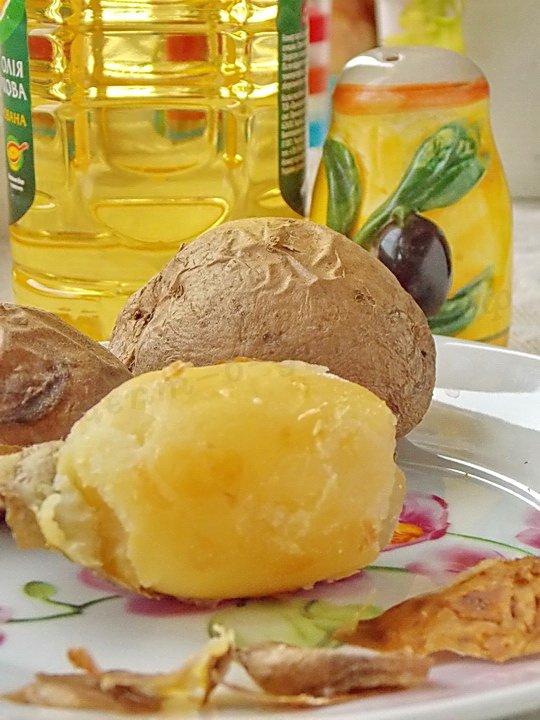самая вкусная печёная картошечка