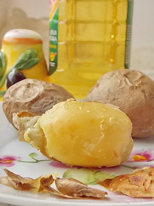 печёная картошка в духовке