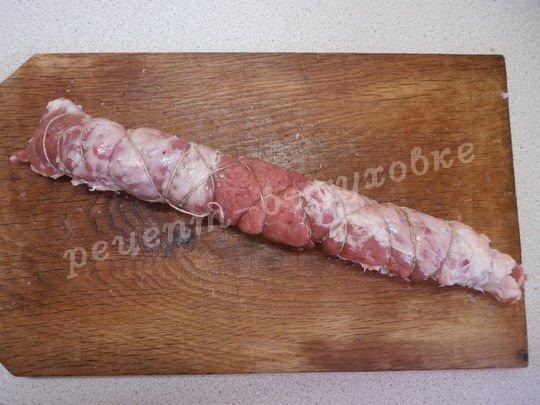 как приготовить рулет из мяса
