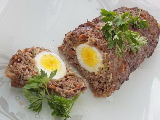 рулет с яйцом рецепт