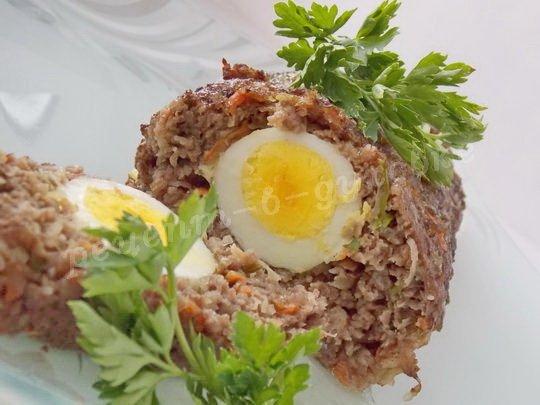 рулет с яйцом фото рецепт