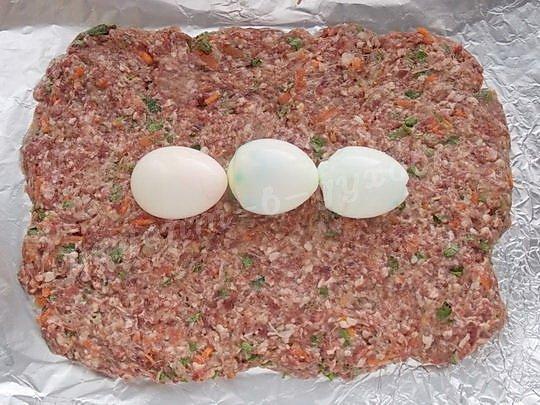 как приготовить рулет с яйцами