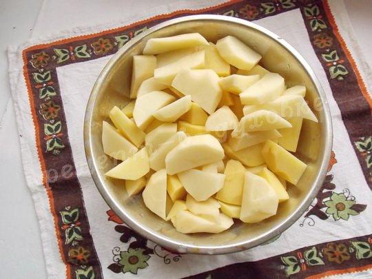 нарежем картошку