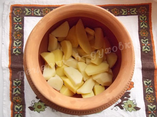 выложим картошку