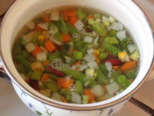отварим овощное ассорти