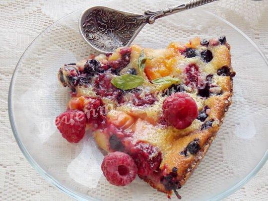 флоньярд с ягодами