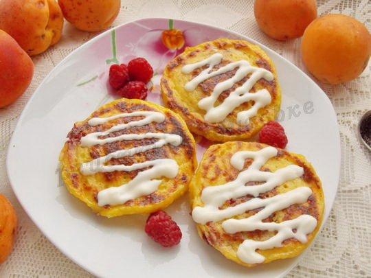 сырники с абрикосами в духовке