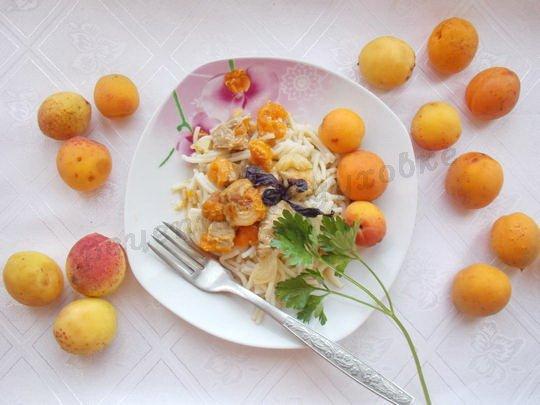 жаркое с абрикосами