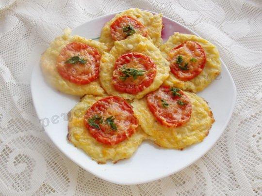 рецепт кабачковых оладьев в духовке