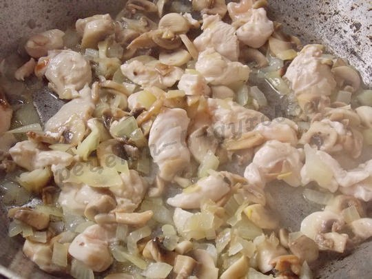 обжарим куриное филе