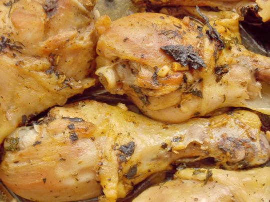 рецепт куриных ножек в рукаве