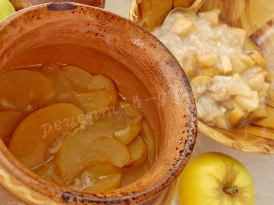 готовим овсяную кашу с яблоками в духовке