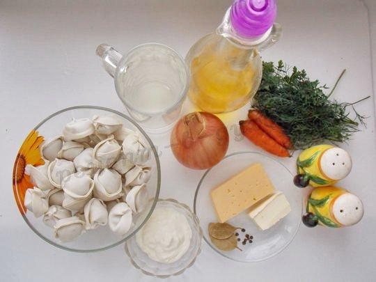 ингредиенты для пельменей в духовке