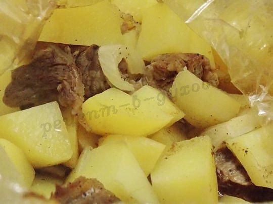 рецепт вкусной запечённой картошки