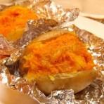 вкусная печёная картошка с начинкой