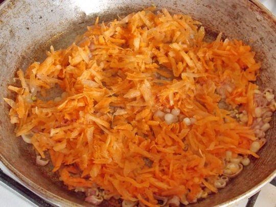 добавляем морковку