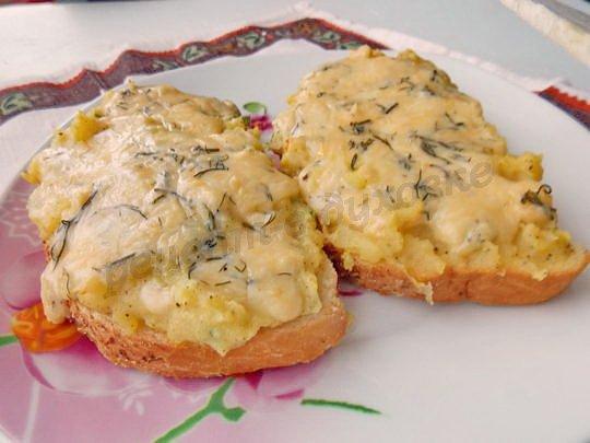 бутерброды с картошкой в духовке