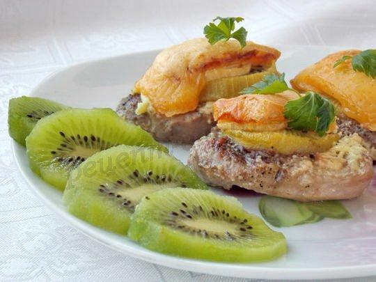 рецепт мяса с киви