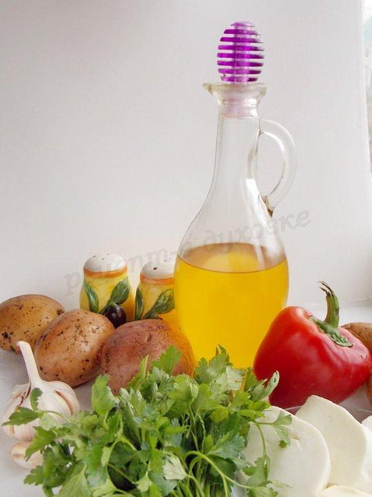 ингредиенты для картошки по-гречески