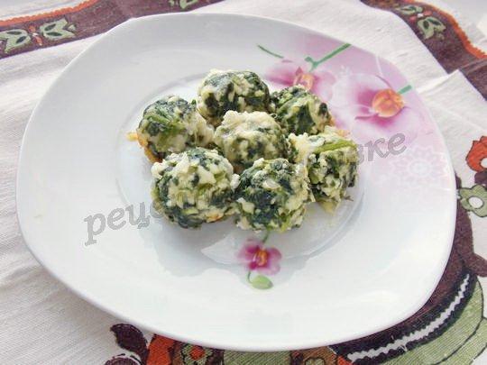 рецепт из шпината в духовке