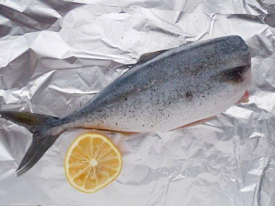 тунец с лимоном