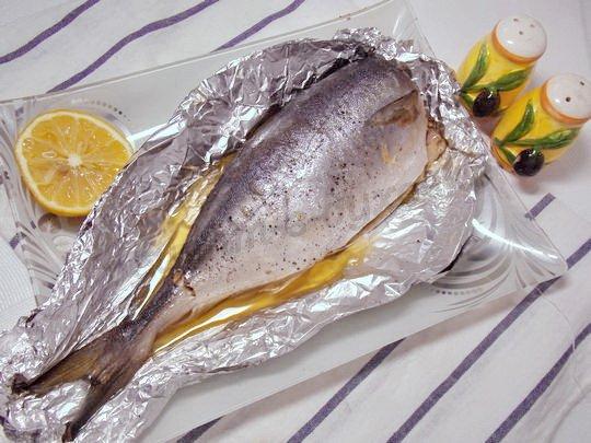 тунец в духовке