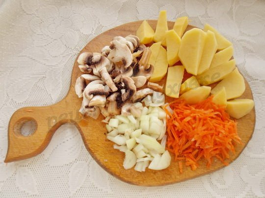 подготовим овощи