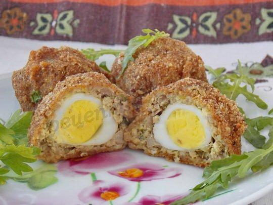 рецепт с перепелиными яйцами