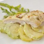 рецепт куриной грудки в духовке с овощами